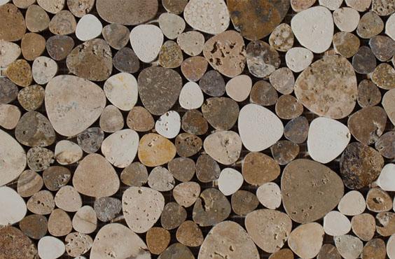 Decorare ed arredare il bagno con il mosaico mosaici - Pietre per bagno ...