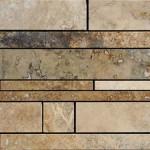 Mosaico Strips in strisce di varie dimensioni