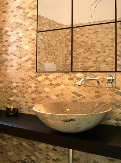 Rivestimenti doccia in mosaico esempi mosaici bagno by - Rivestimento mosaico bagno ...