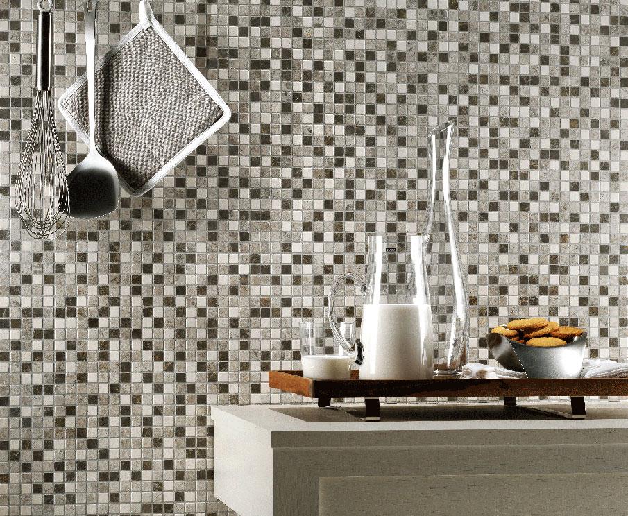 Un mosaico per ogni ambiente mosaici bagno by pietre di rapolano - Mosaico per cucina ...