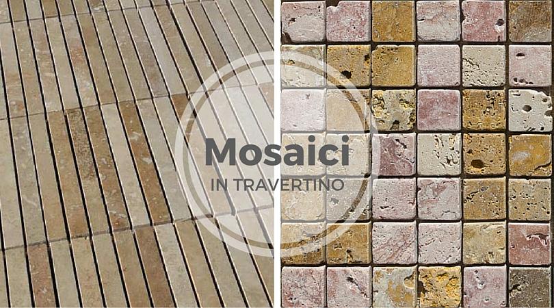mosaico pietra naturale bagno rivestimenti