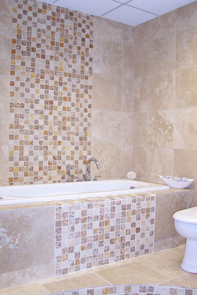 mosaico travertino pietra naturale rivestimenti