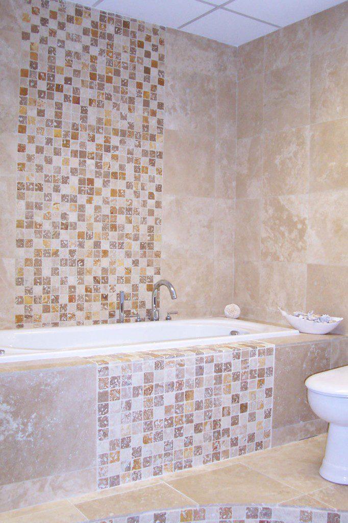 Mosaici bagno by pietre di rapolano - Mosaico piastrelle ...