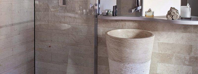 Curiosit mosaici bagno - Lavabo bagno in pietra ...