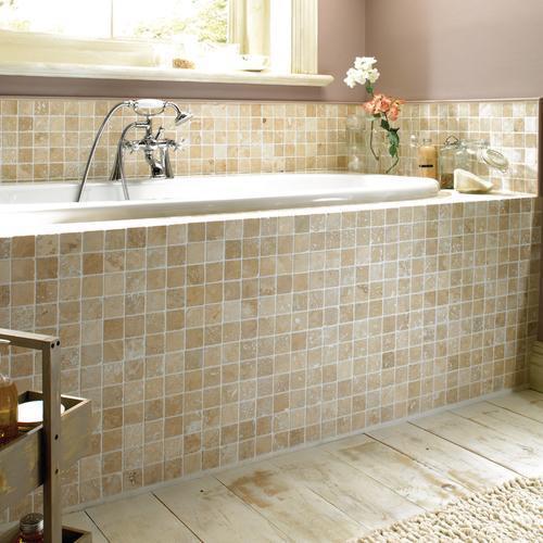 Esempi di bagni in mosaico  Mosaici Bagno by Pietre di Rapolano